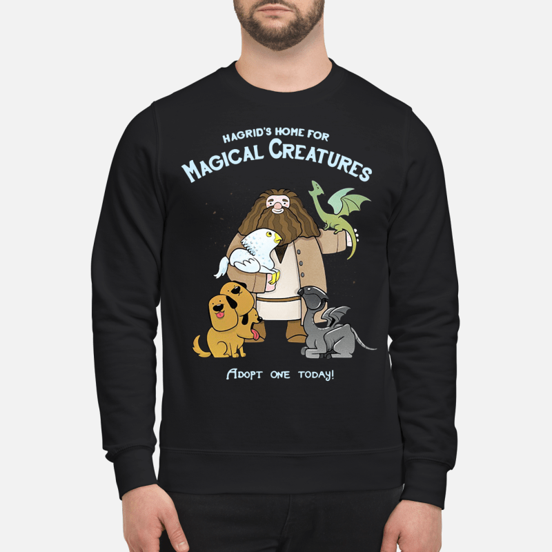 Hagrid's home for magical creatures adopt one today Sweater