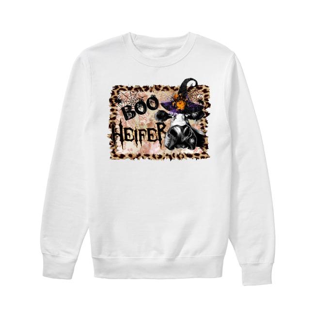 Halloween Boo Heifer Sweater