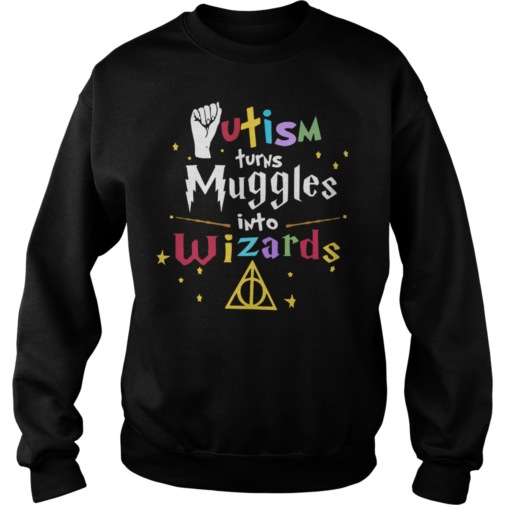 Harry Potter Autism turns Muggles into Wizards Sweater