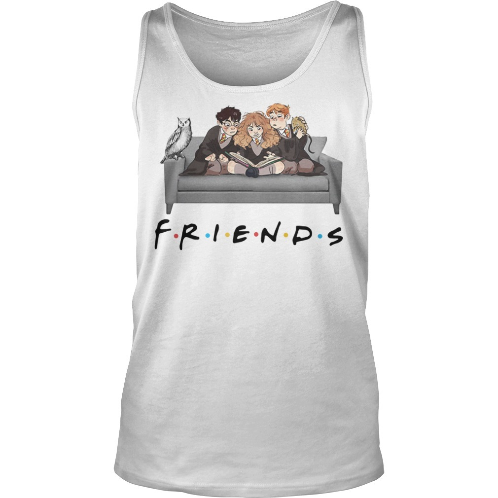Harry Potter Friends TV Show Tank top