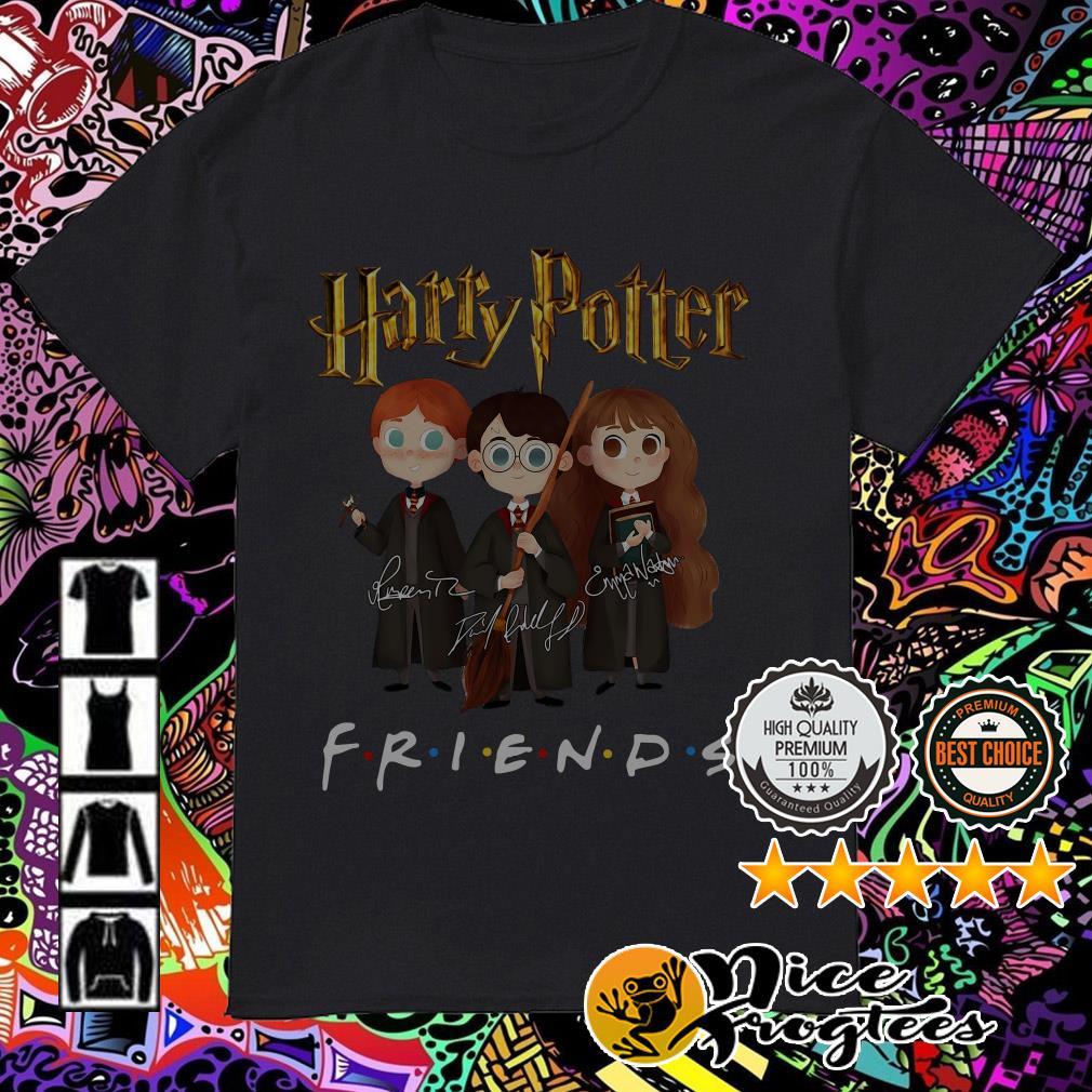 Harry Potter Friends TV Show signatures shirt