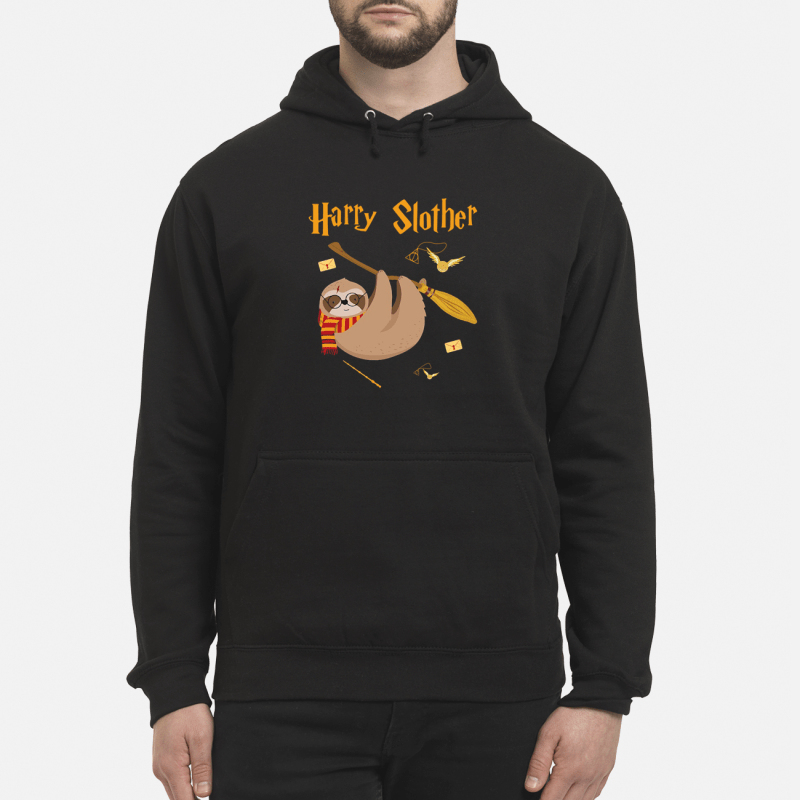 Harry Potter sloth Harry Slother Hoodie