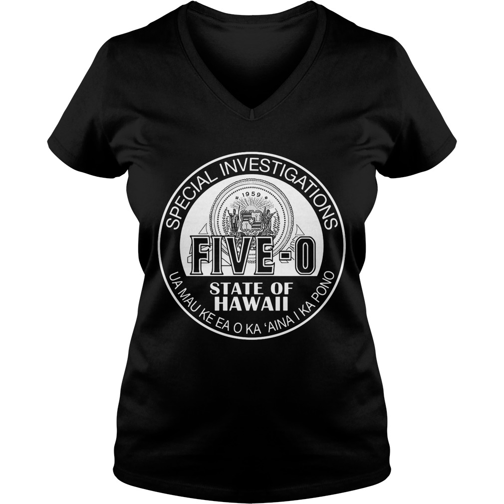 Hawaii Five 0 Special Investigator Shield Shirt Hoodie