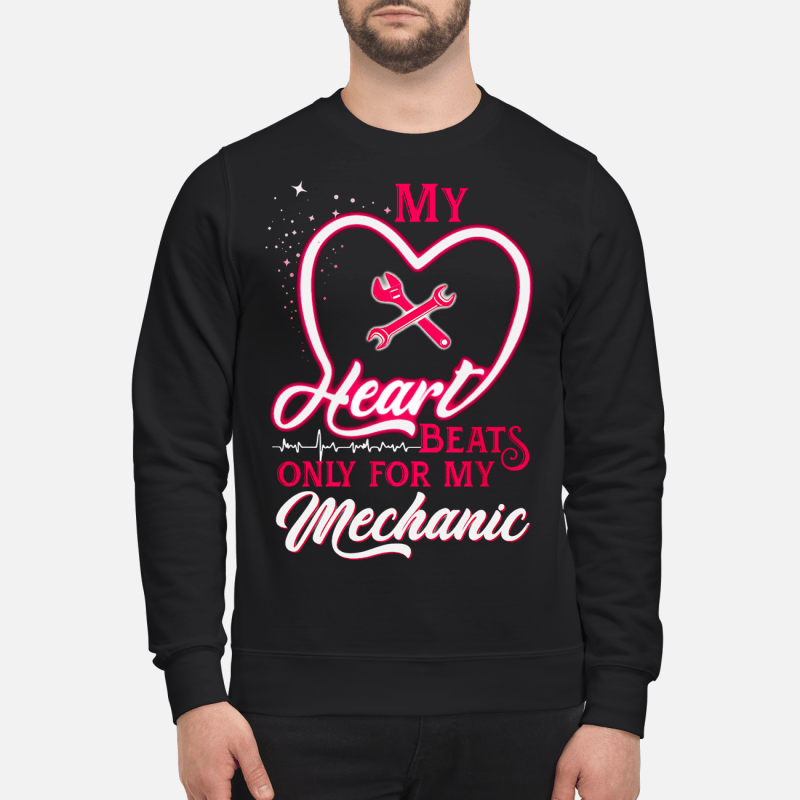 My heart beats only for my Mechanic Sweater