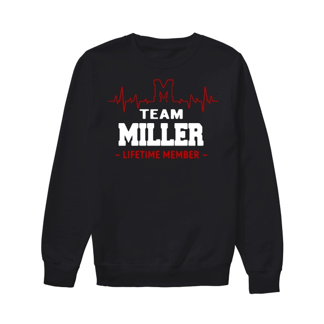 Heartbeat M team Miller lifetime member Sweater