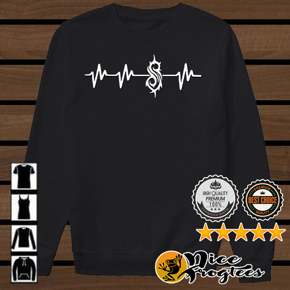 Heartbeat slipknot shirt