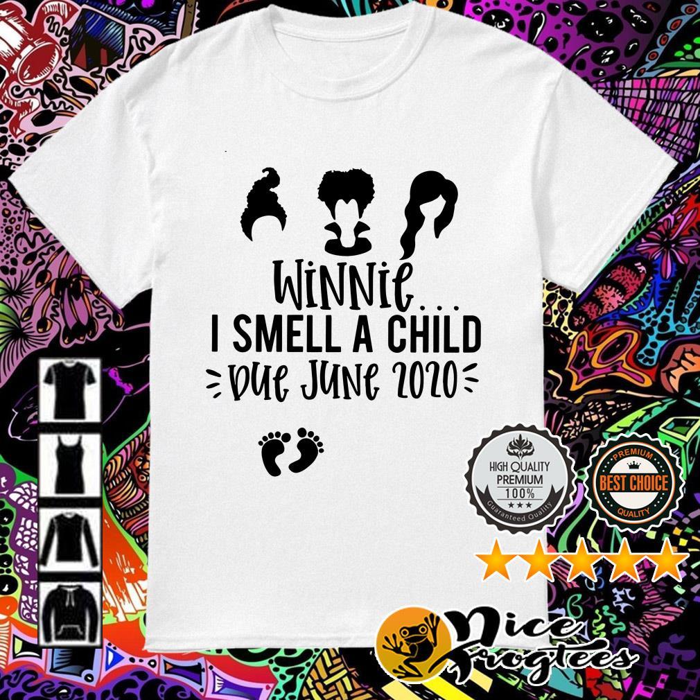 Hocus Pocus Winnie I smell a child Due June Zozo shirt