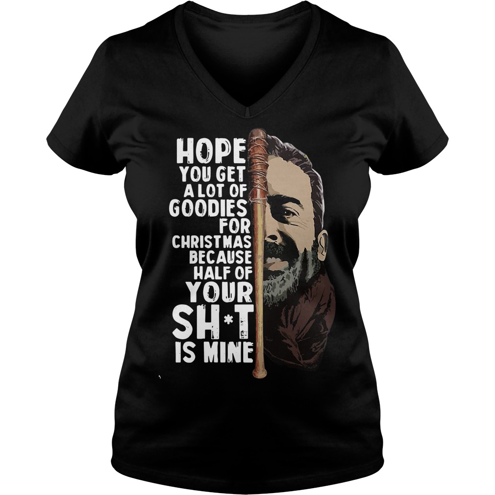 Hope you get a lot of goodies for Christmas V-neck T-shirt