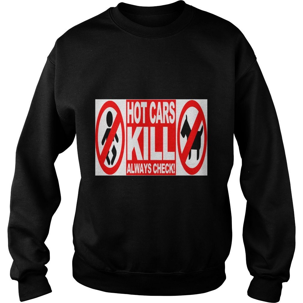 Hot Cars Kill Always Check merry christmas dog sweater