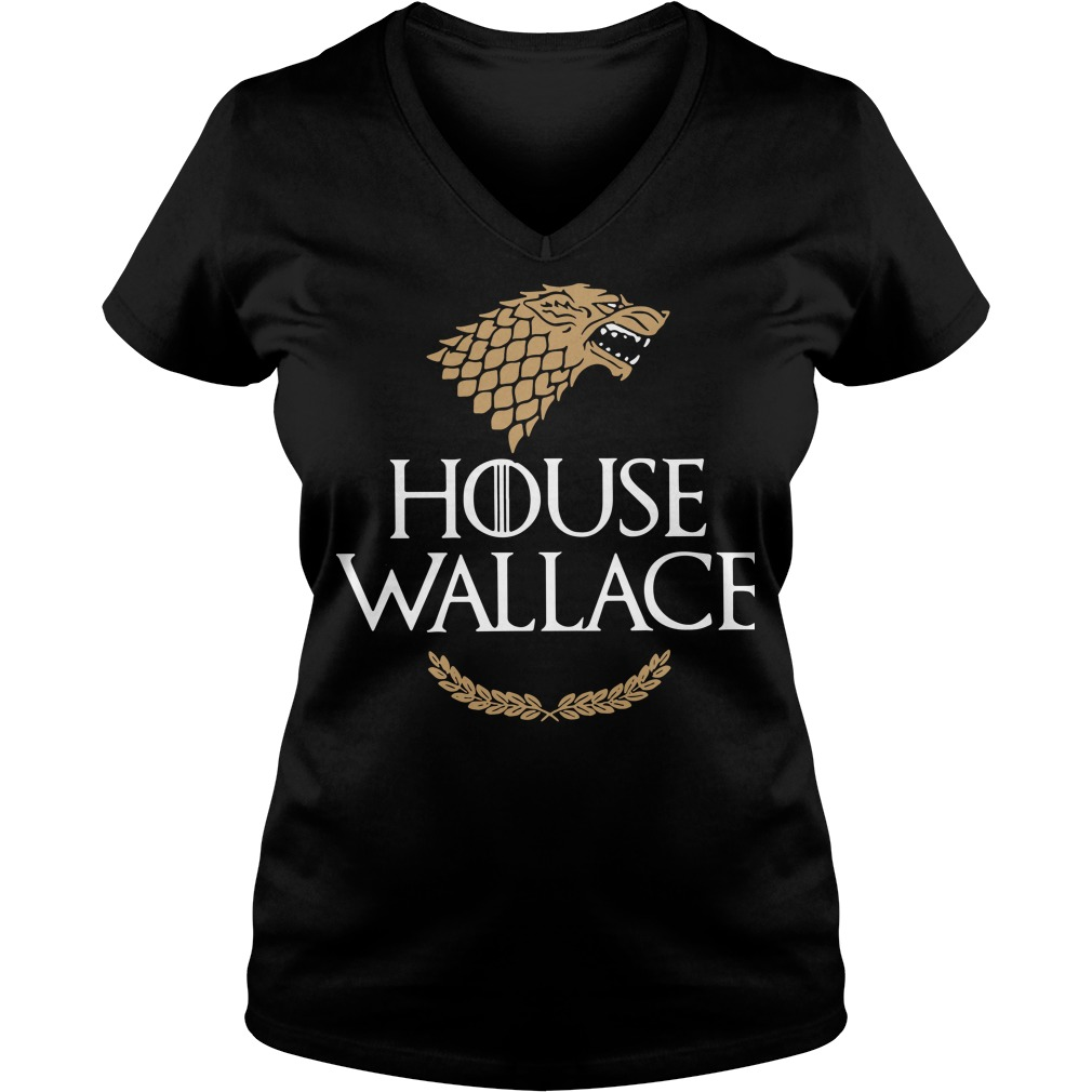 House Wallace Game of Thrones V-neck t-shirt
