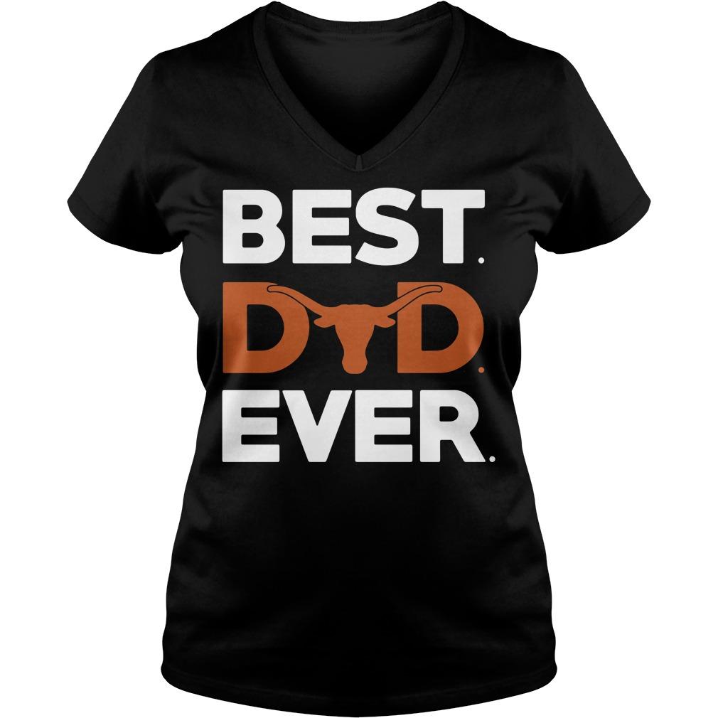 Hunting best dad ever V-neck t-shirt