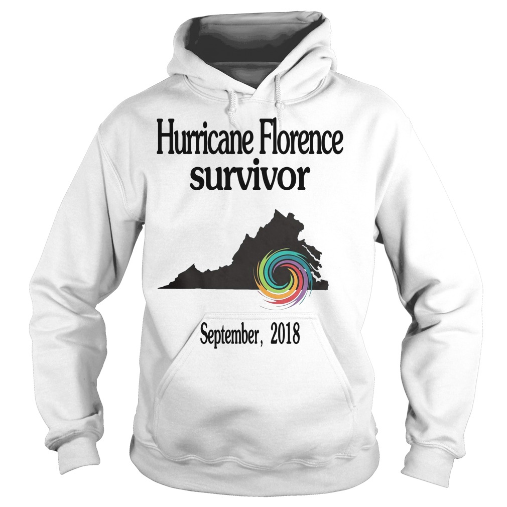 Hurricane Florence Survivor September 2018 Hoodie