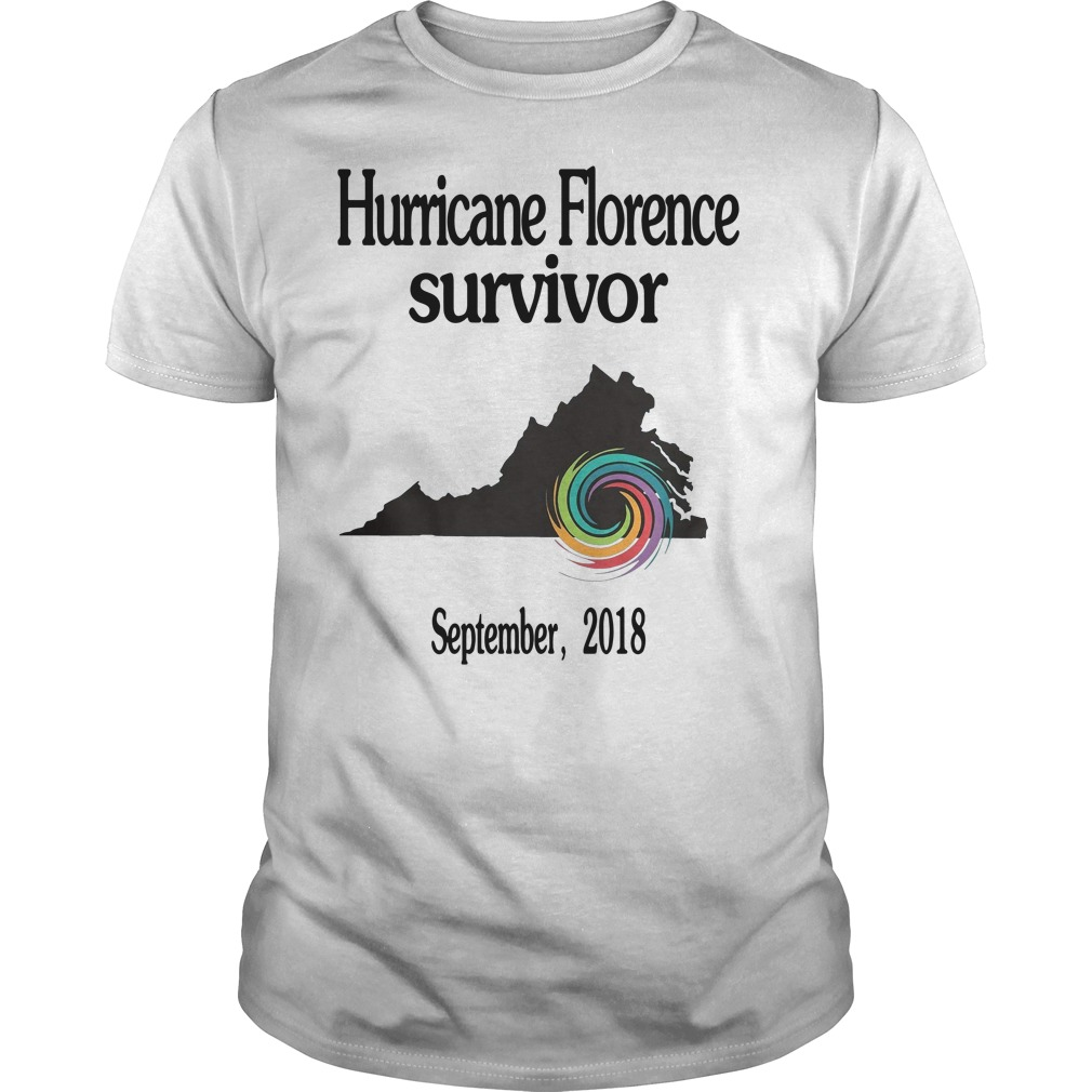 Hurricane Florence Survivor September 2018 shirt