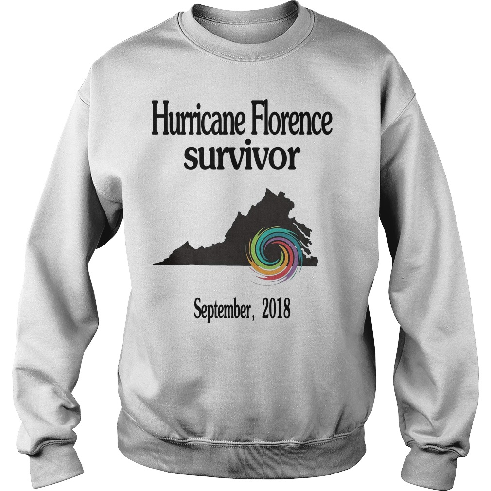 Hurricane Florence Survivor September 2018 Sweater