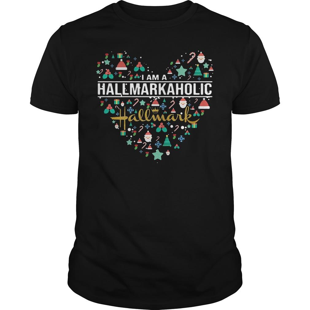 I am a HallmarkAholic Hallmark shirt