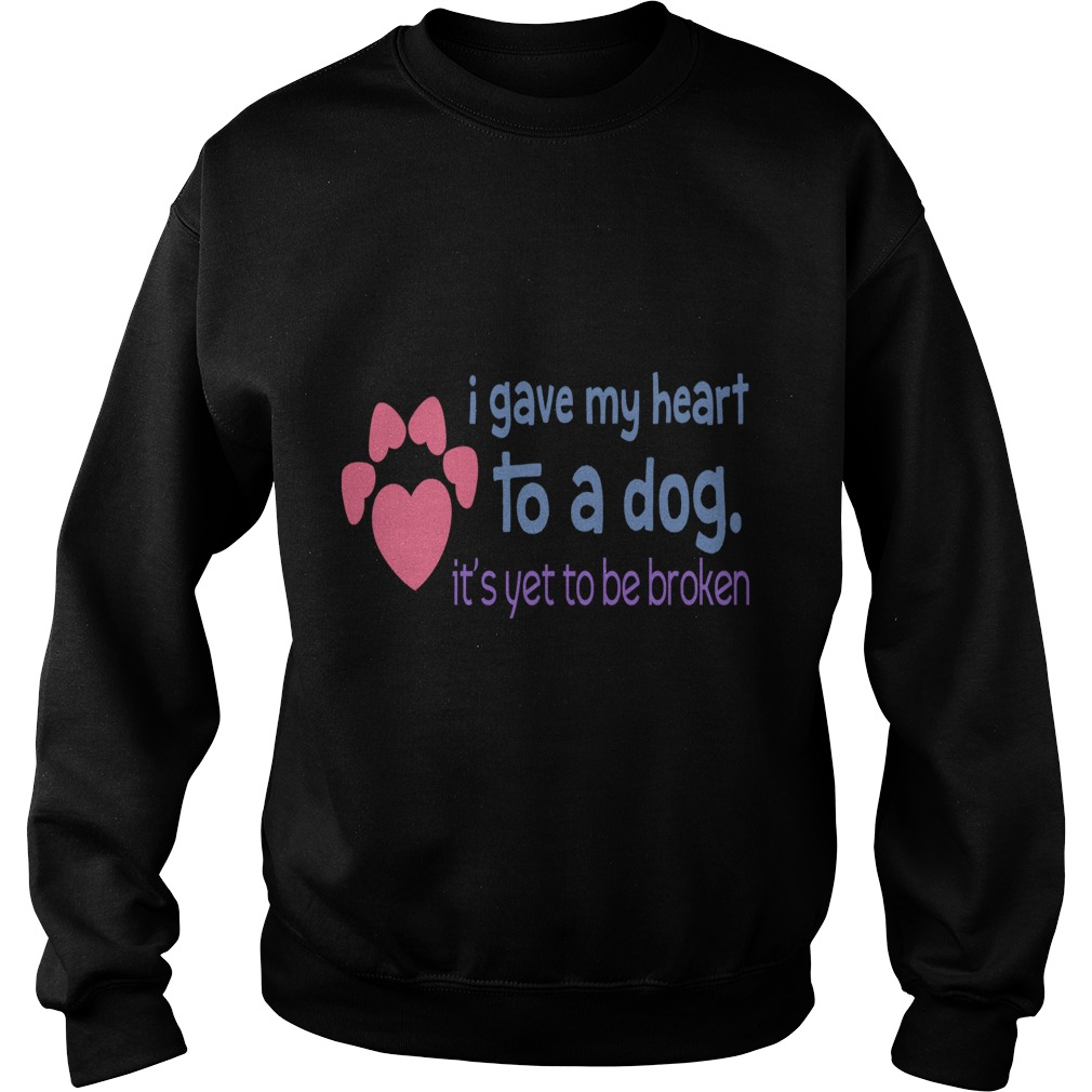 I Gave My Heart To A Dog merry christmas dog sweater