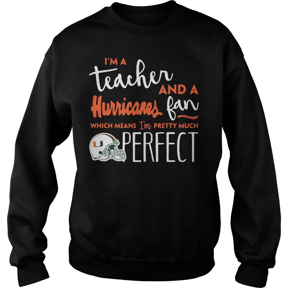 I'm a teacher and a Hurricanes fan which means I'm pretty much Sweater