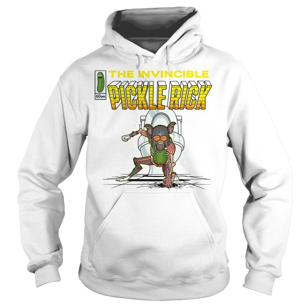 The invincible pickle rick Hoodie