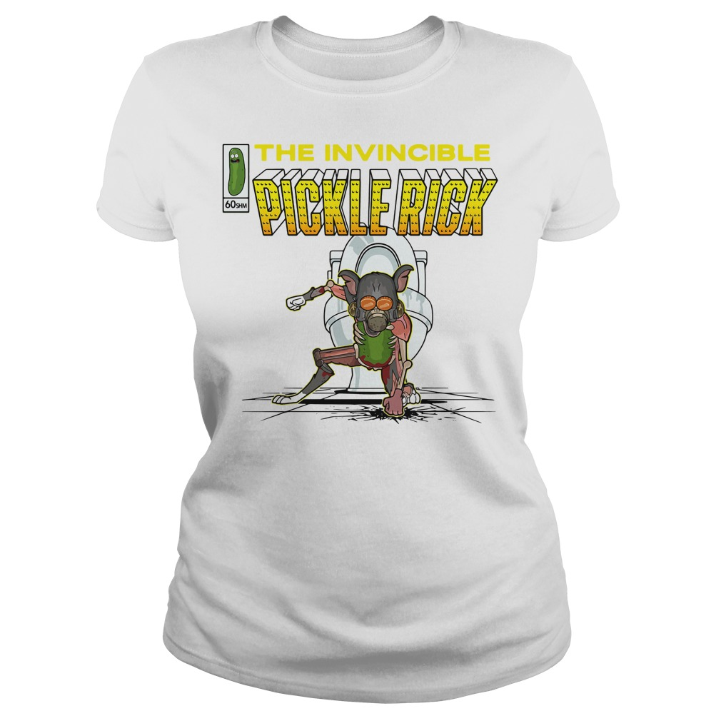 The invincible pickle rick Ladies Tee