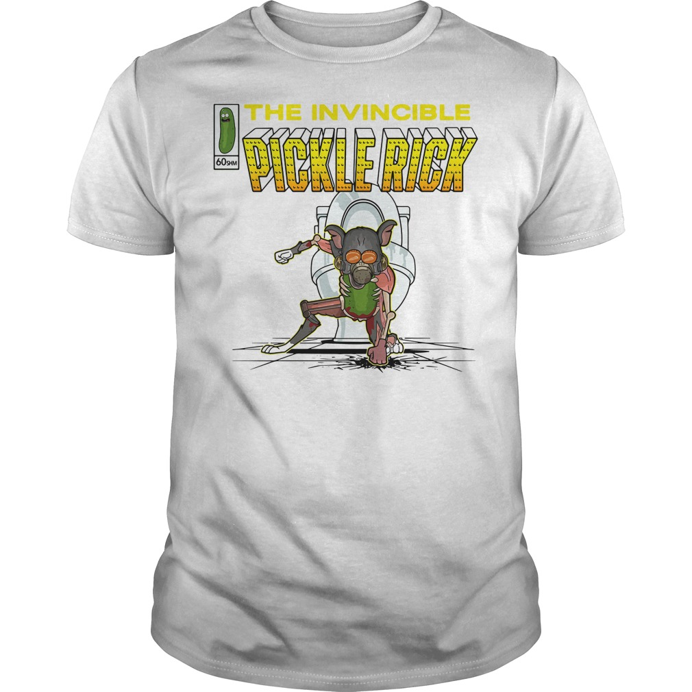 The invincible pickle rick shirt