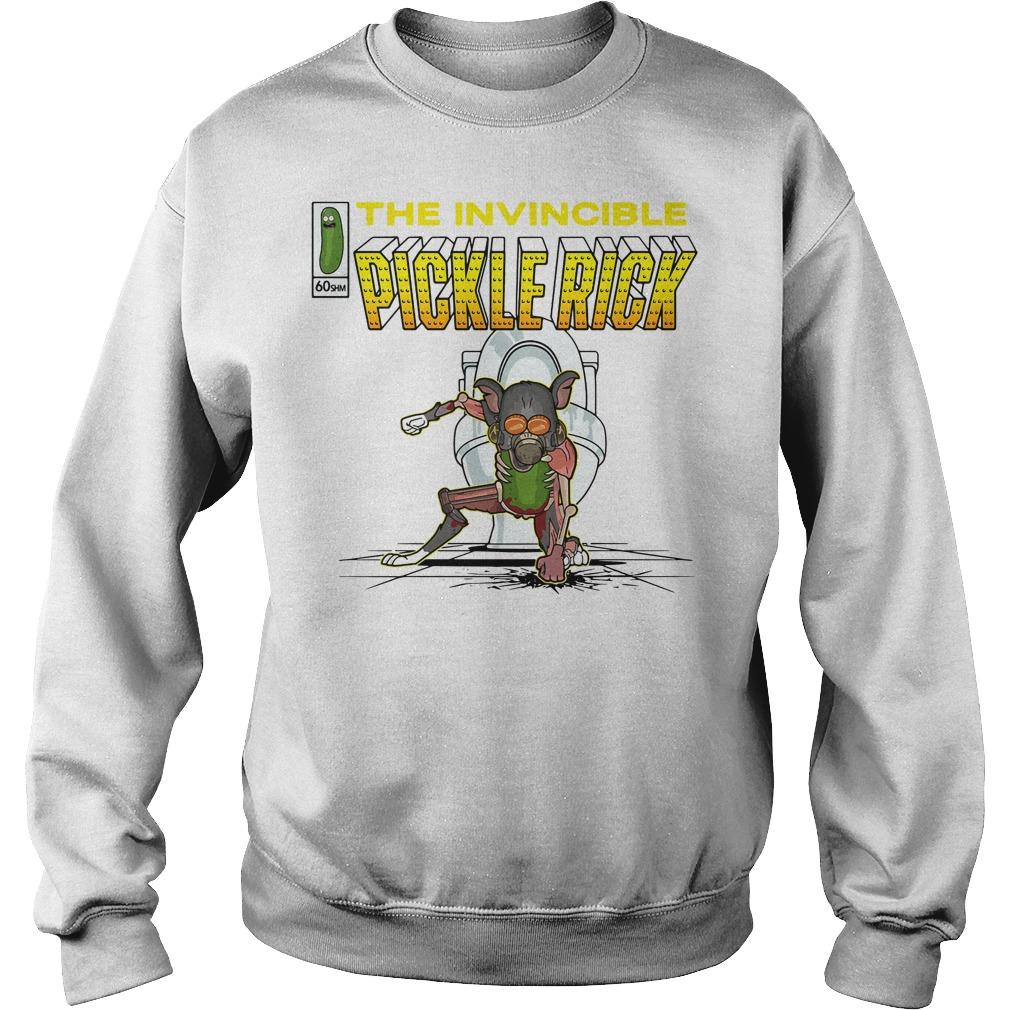 The invincible pickle rick Sweater