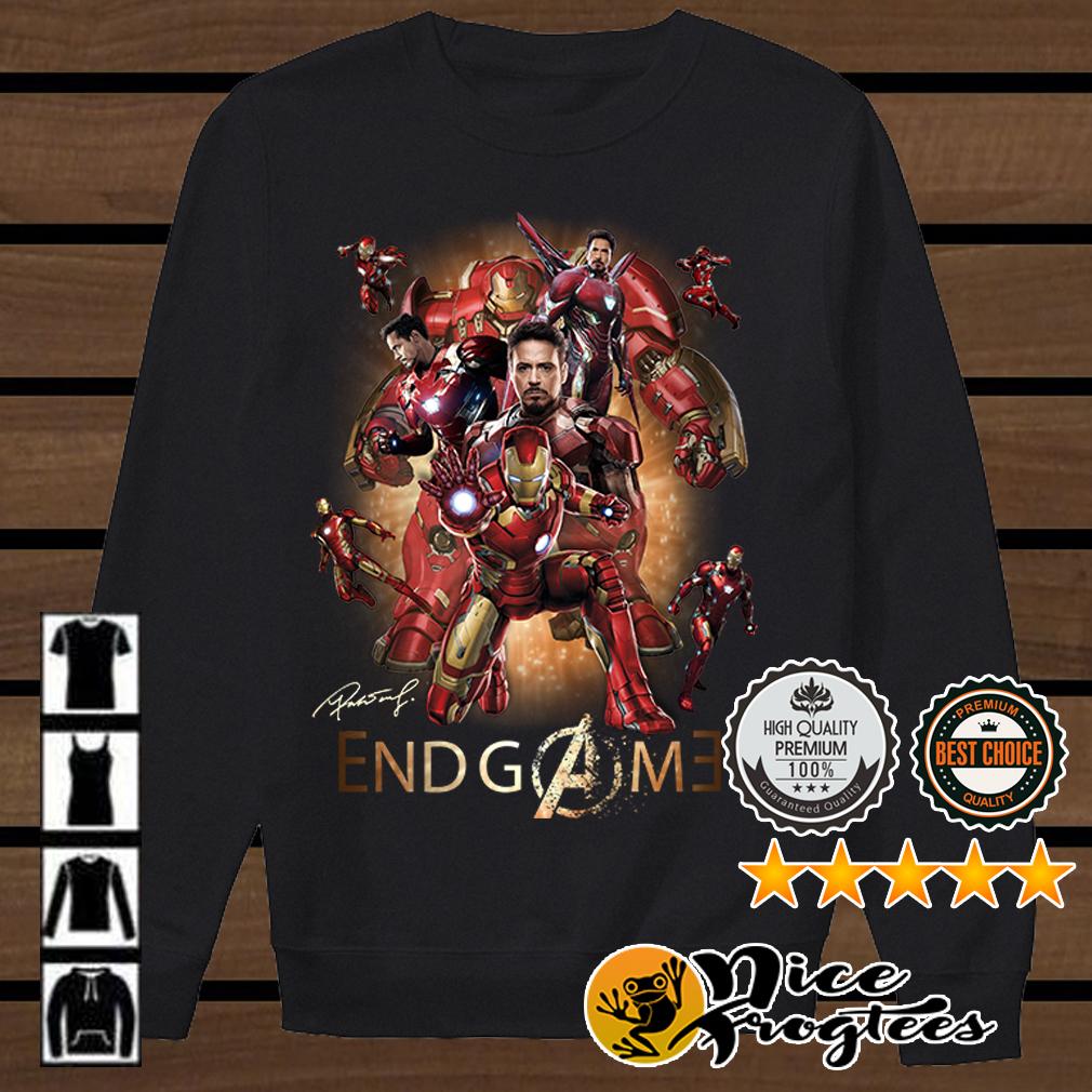 Iron Man Endgame shirt