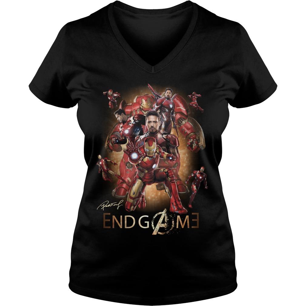 Iron Man Endgame V-neck t-shirt