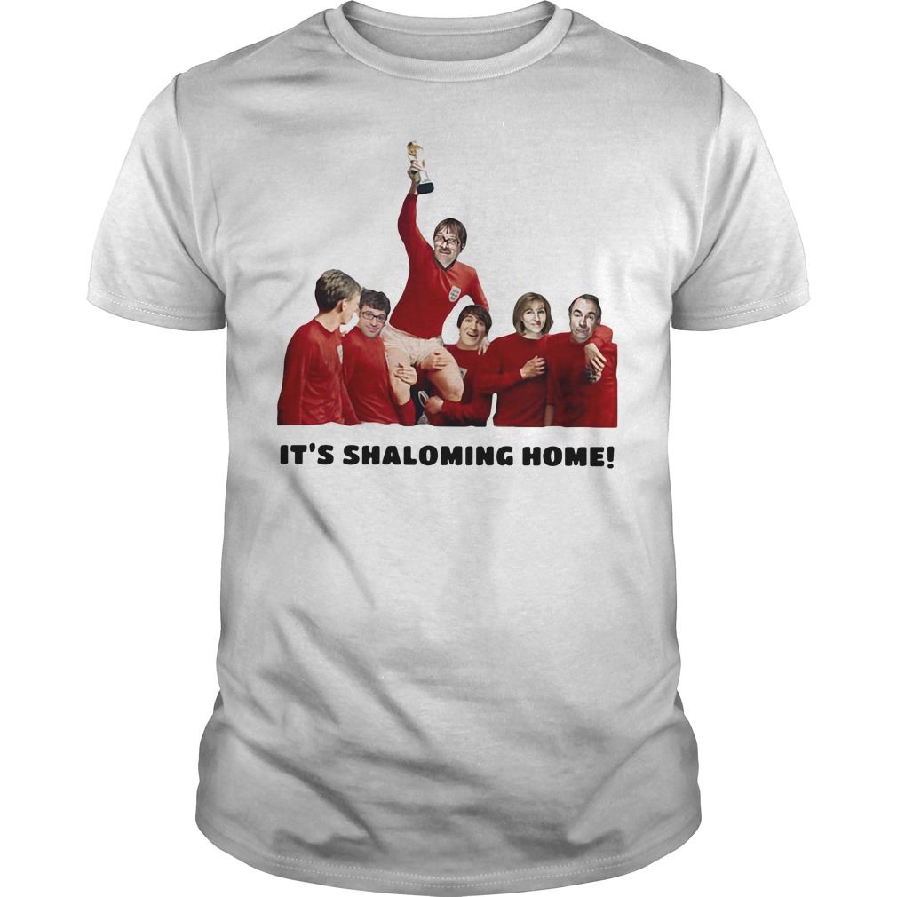 It's Shaloming Home England World Cup shirt