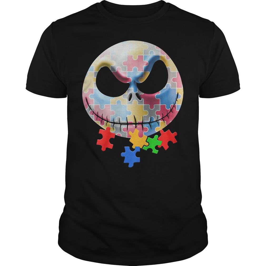 Autism Jack Skellington shirt