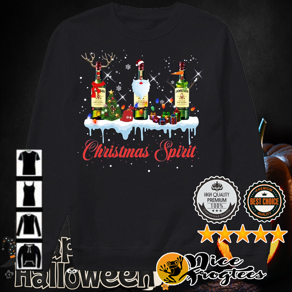 Jameson Christmas spirit shirt