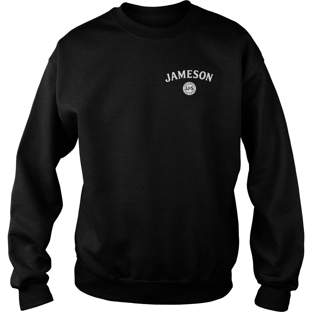 Jameson Irish Whiskey inside American flag Sweater