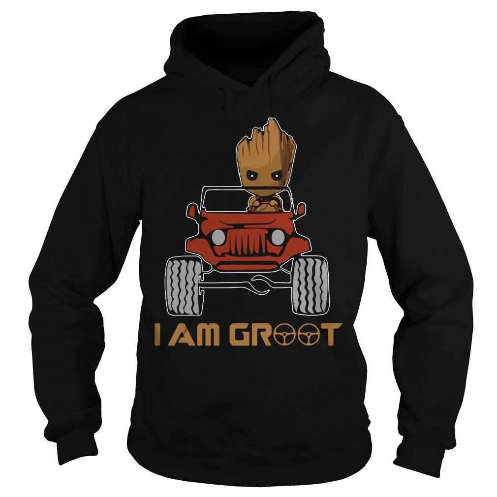Jeep I am Groot Hoodie