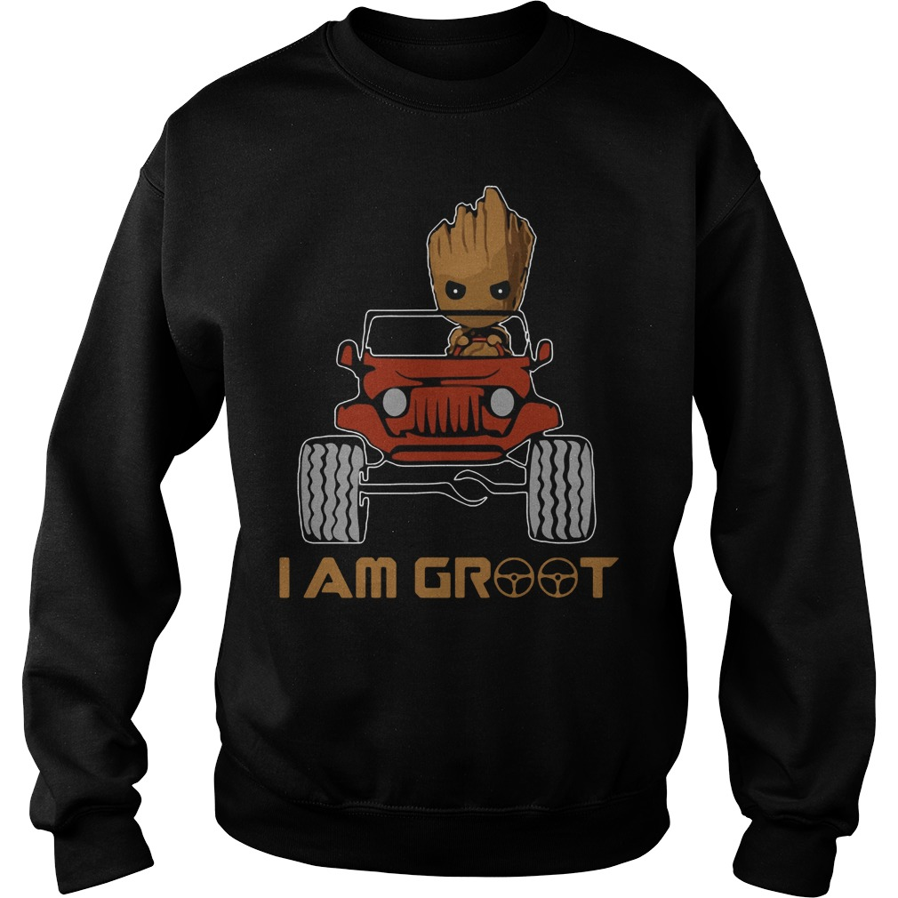 Jeep I am Groot Sweater