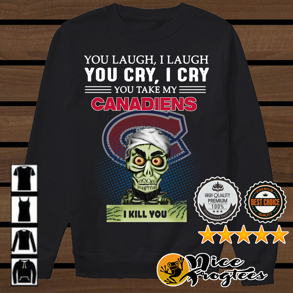 Jeff Dunham Achmed the Dead Terrorist laugh cry Montreal Canadiens I kill you shirt