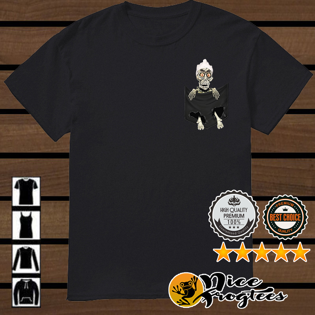 Jeff Dunham Achmed the Dead Terrorist in the pocket shirt