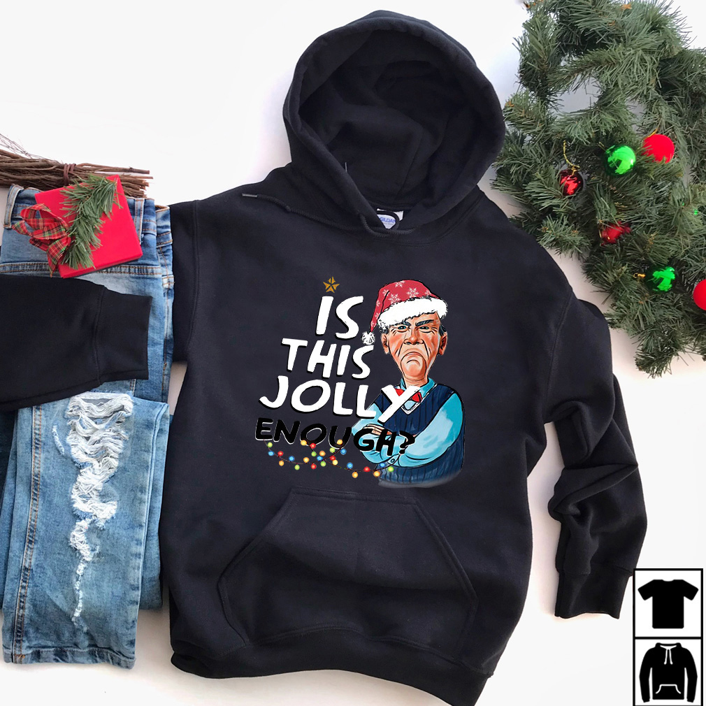 Christmas Jeff Dunham is this Jolly enough sweater, shirt and sweater