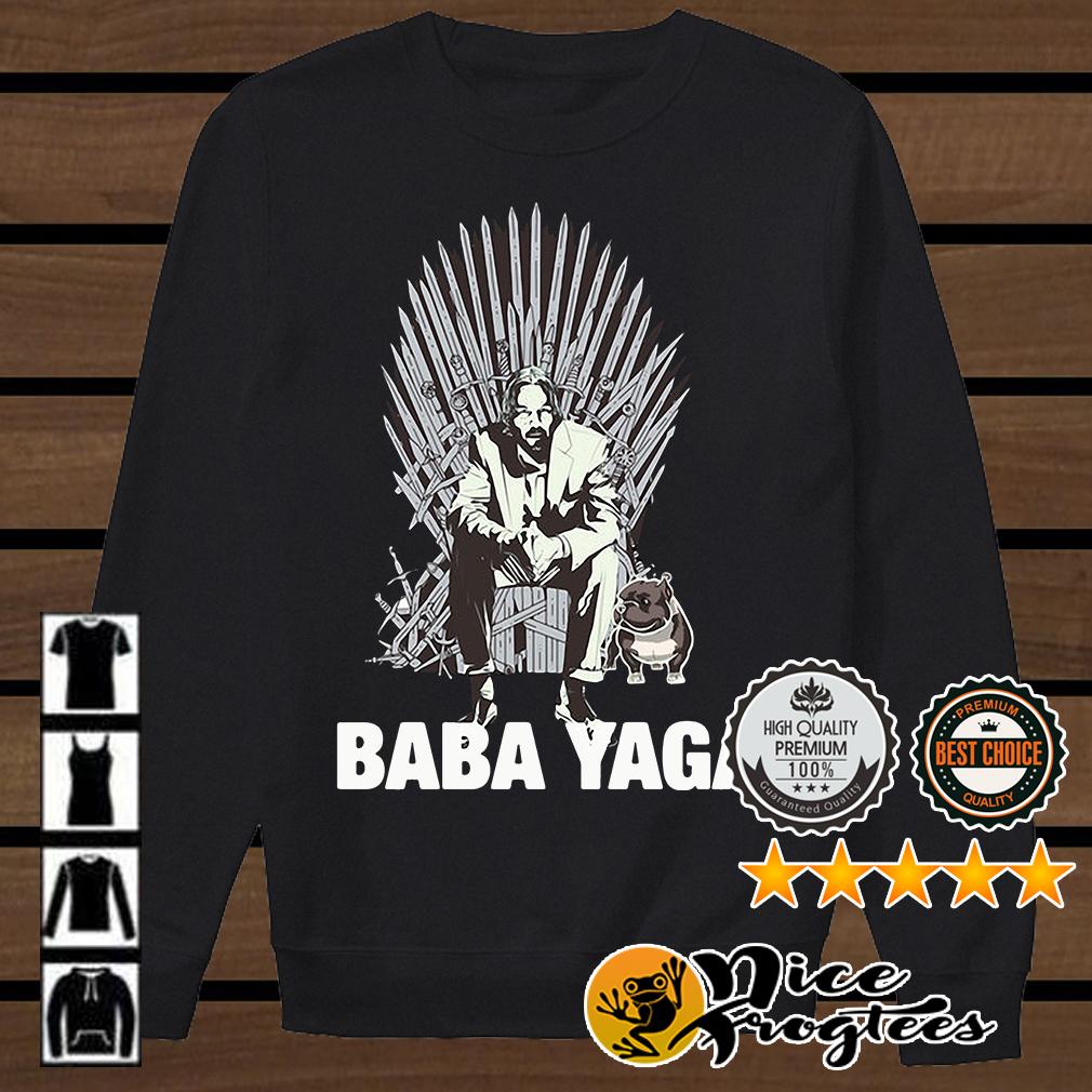 John Wick and his dog Baba Yaga Game of Thrones shirt