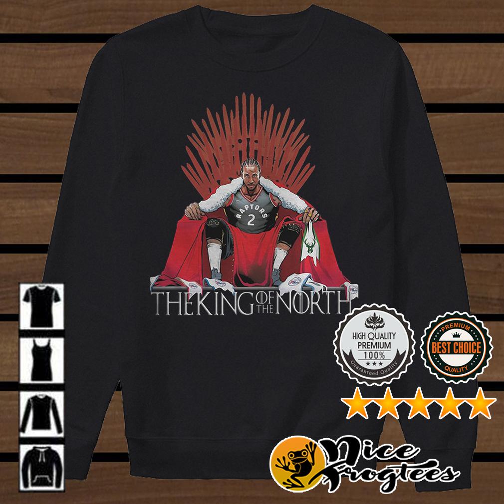 Kawhi Leonard Toronto Raptors 2 The King of the North Game of Thrones shirt