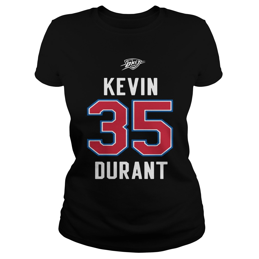 Kevin Durant Western Conference Ladies tee