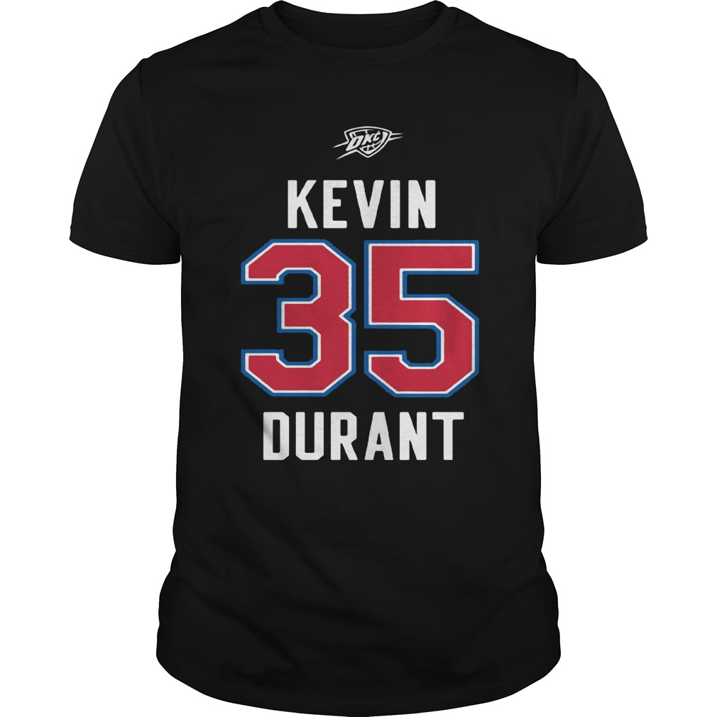 Kevin Durant Western Conference shirt