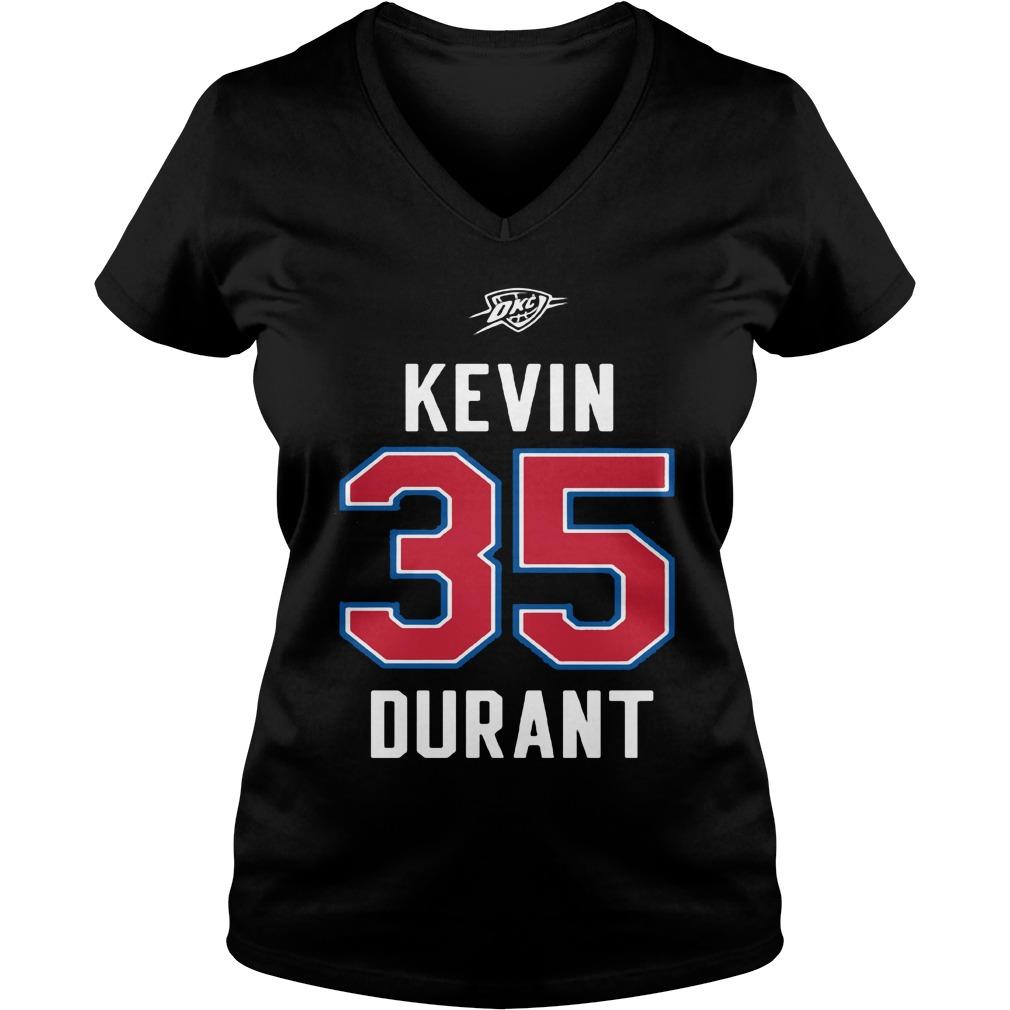 Kevin Durant Western Conference V-neck t-shirt