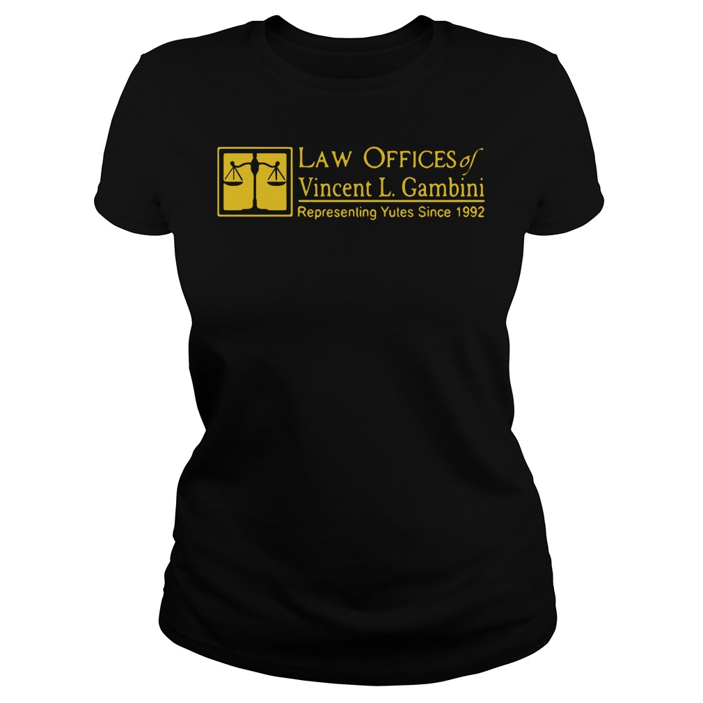 Law offices of Vincent L Gambini Ladies tee