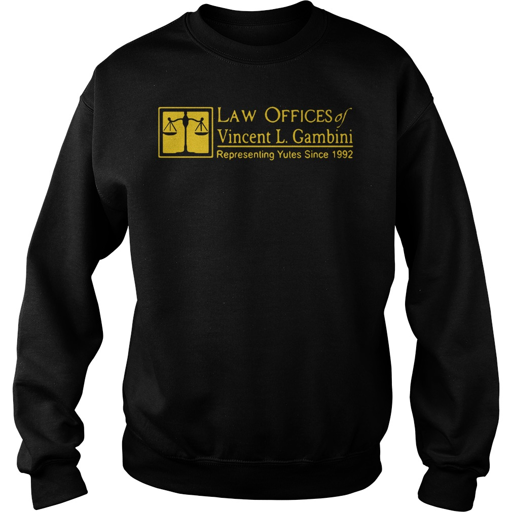 Law offices of Vincent L Gambini Sweater