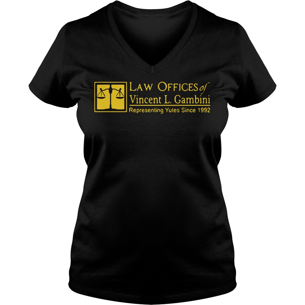 Law offices of Vincent L Gambini V-neck t-shirt