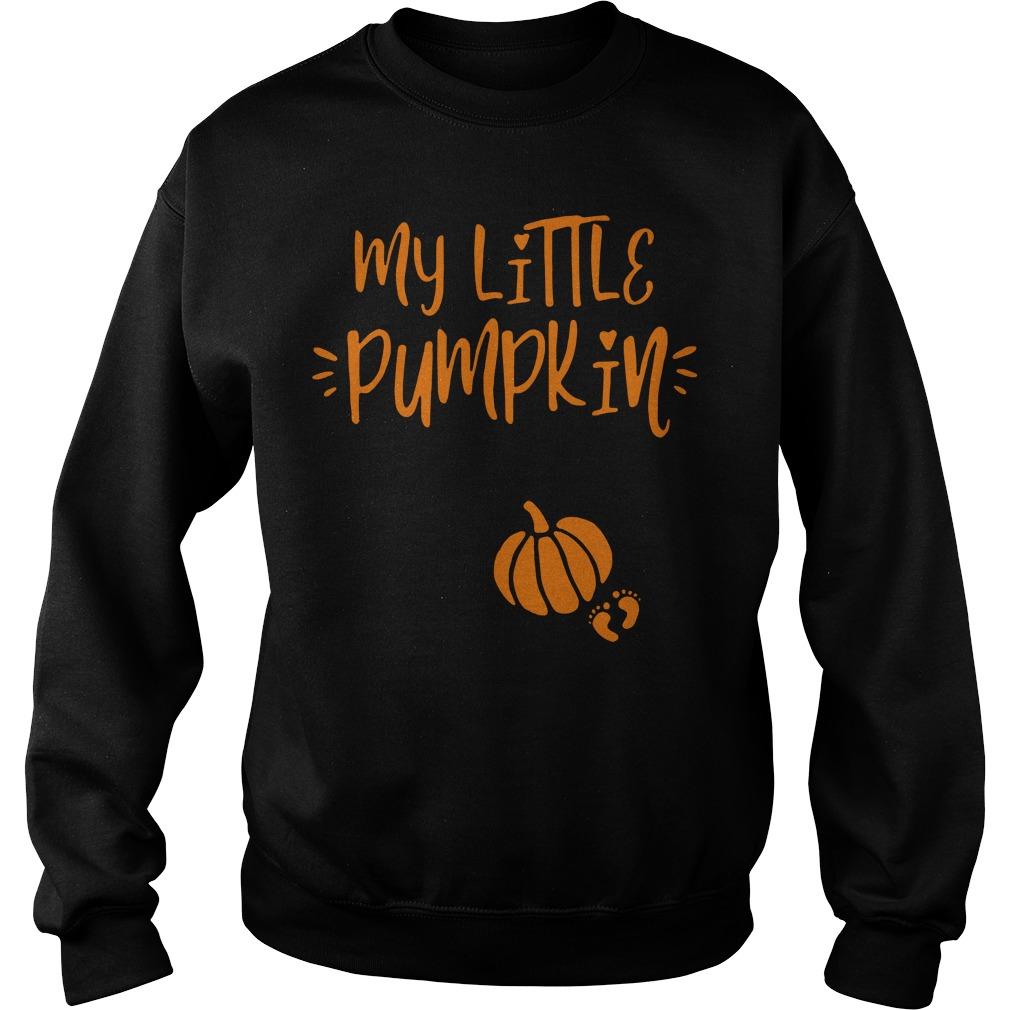 My Little Pumpkin Halloween Sweater
