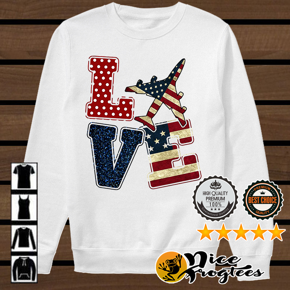 Love American Airman shirt