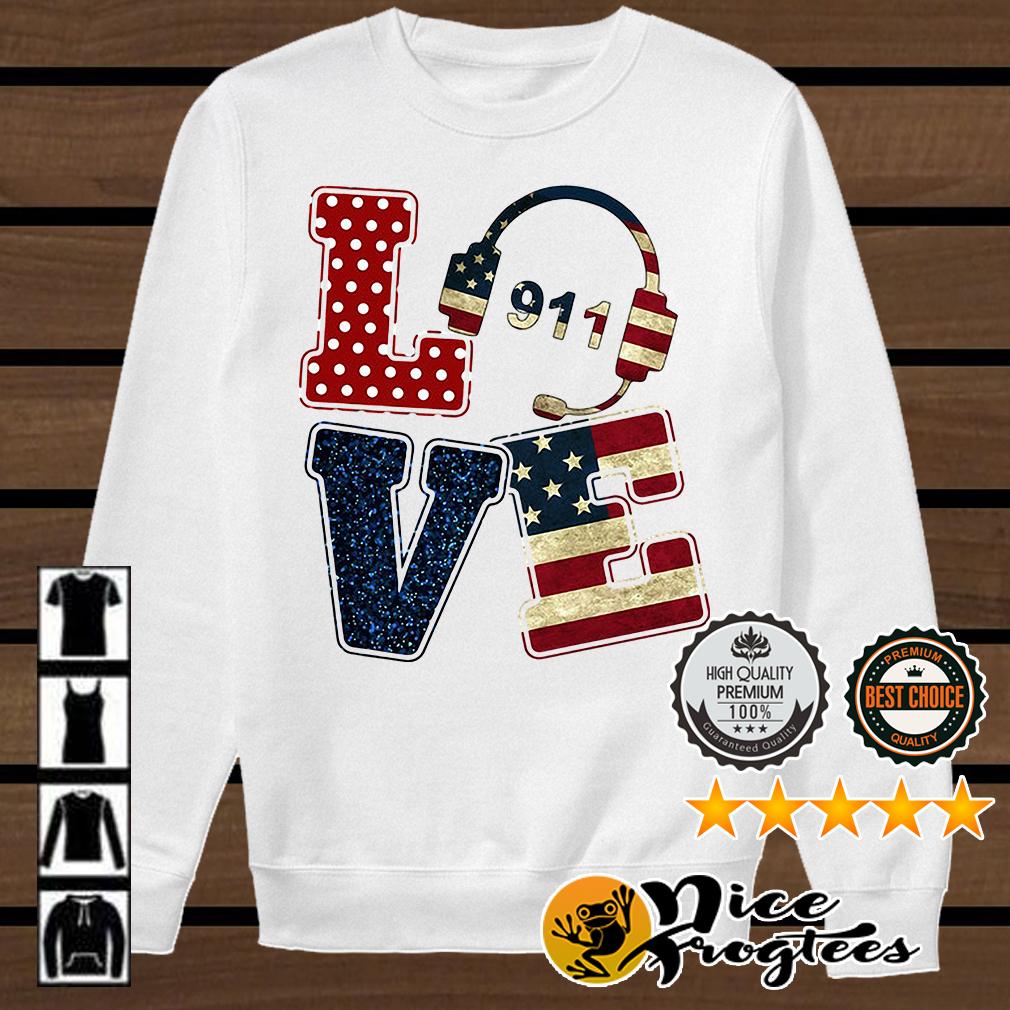 Love American Dispatcher shirt