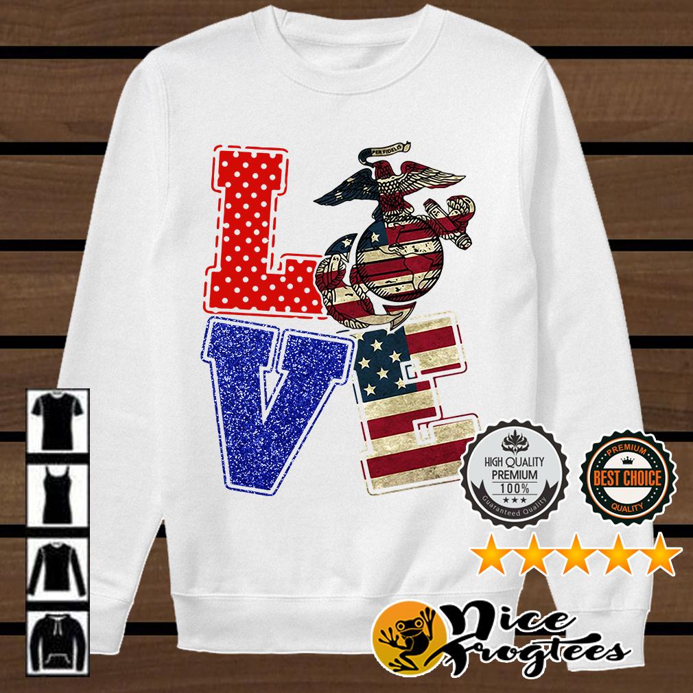 Love American Marine shirt