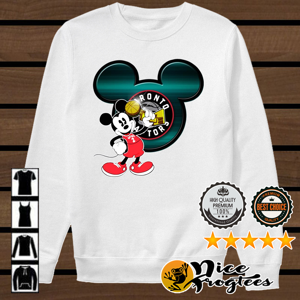 Love Toronto Raptors and Mickey Mouse Disney shirt