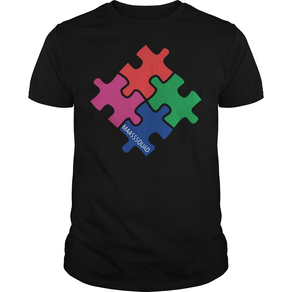 Autism MaassSquad shirt
